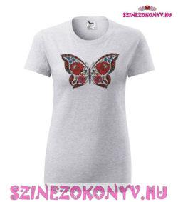 szurke-polo-kalocsai-pillango-mintaval-szinezo